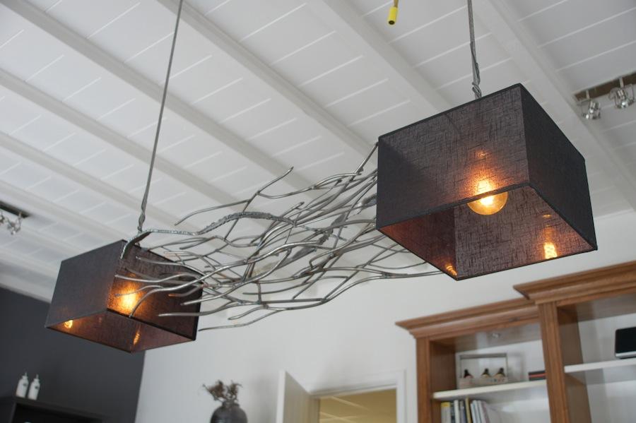 Ruig gevormde ruimtelijke rechthoekige design hanglamp u2013 No ...
