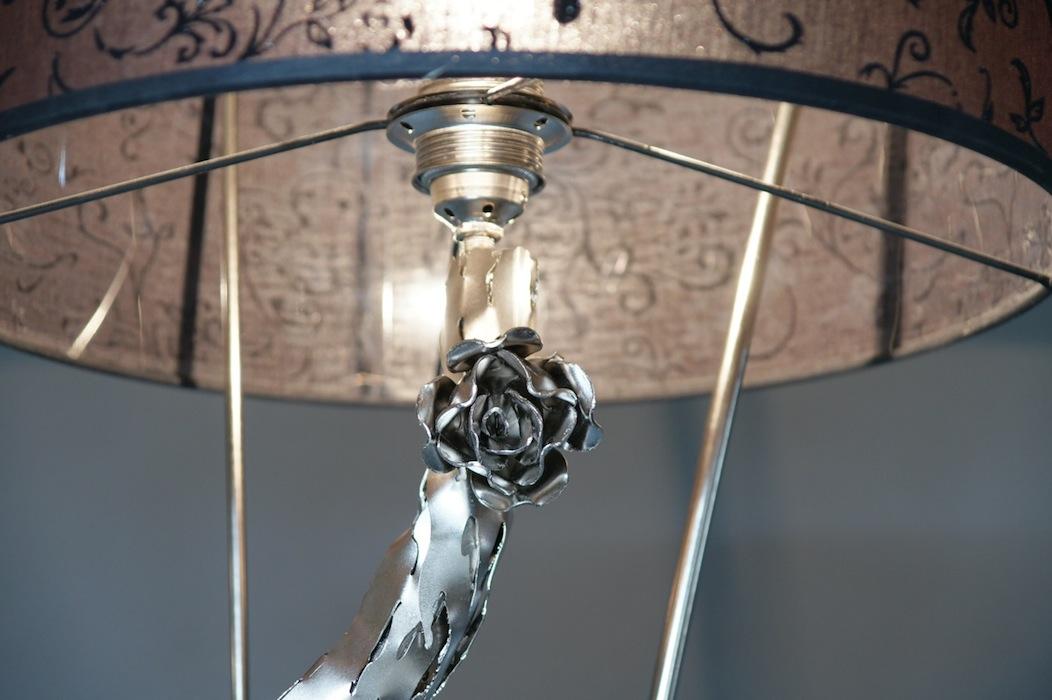 ... Landelijk: Tweedehands prachtige landelijke staande lamp te koop