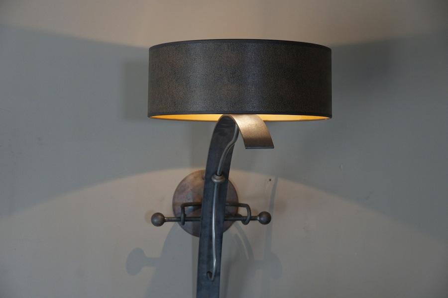 Kasteellamp landelijk klassiek middeleeuws nostalgisch fakkel for Design wandlamp