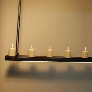 hanglamp met kaarsen een fraai design exclusief en landelijk