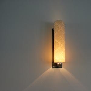 Design wandlamp handgemaakt smeedijzer lampenkap for Design wandlamp