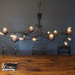 kroonluchter hanglamp kaarsen