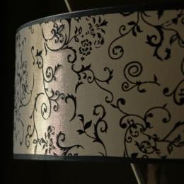 bijzondere lampenkap lelies