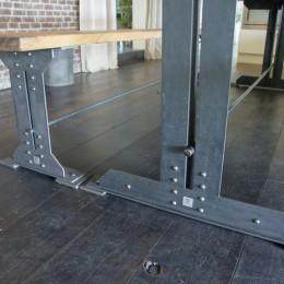 kloostertafel frame metaal ijzer