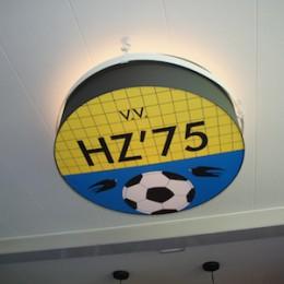 voetbal logo lamp