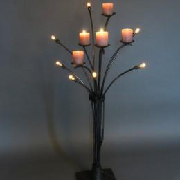 staande lamp takken bos
