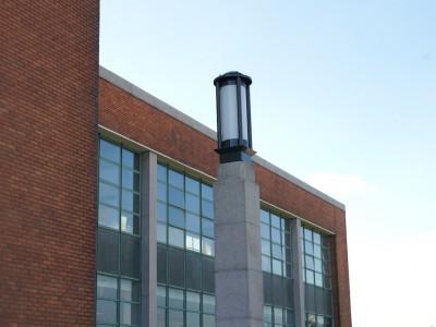 buitenlamp cincinnatie gebouw