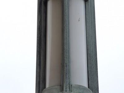 oude monumentale buitenlamp vlaardingen